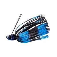 B-crawl Swimmer 1/4oz | Black/blue Stripe