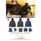 B-true Shell Parka