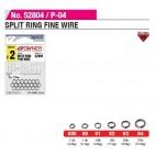 Owner Split Ring Fine Wire