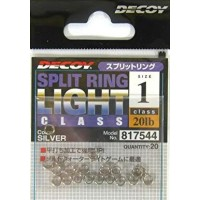 Decoy R-4 Split Ring Light Class Silver