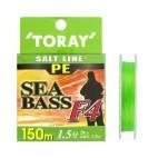 Toray Salt Line Pe Seabass 150mt 4 Fili
